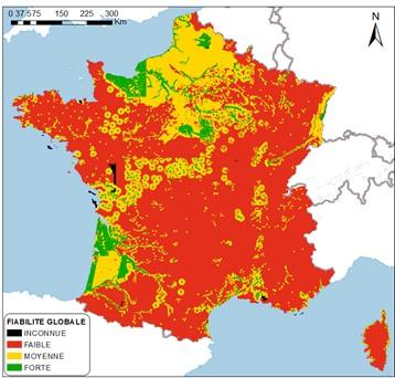 carte nappe phréatique france Cartographie des remontées de nappes   Géorisques